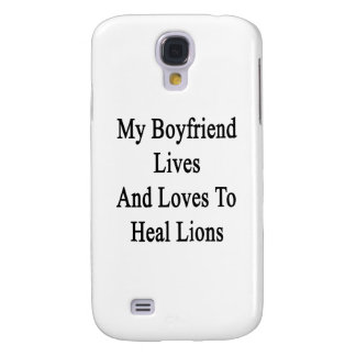My Boyfriend Lives And Loves To Heal Lions Galaxy S4 Cover