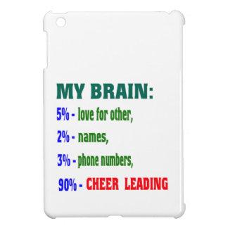 My Brain 90 % Cheer Leading. iPad Mini Cases