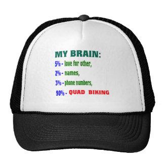 My Brain 90 % Quad Biking. Trucker Hat
