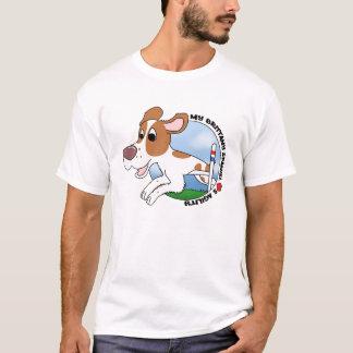 My Brittany Spaniel Loves Agility TeeShirt T-Shirt