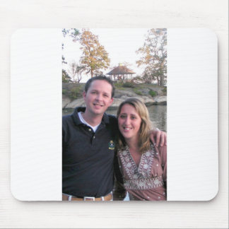 MY BROTHER AND NEW SISTER IN LAW MOUSE PAD