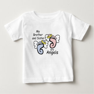 My Brother AND Sister are Angels Baby T-Shirt