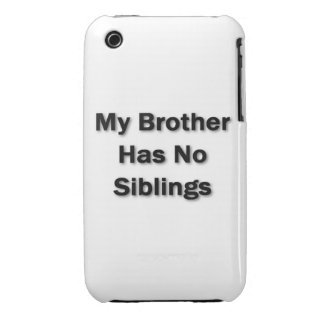 My Brother Case iPhone 3 Covers