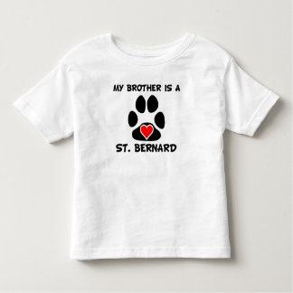 My Brother Is A St. Bernard Toddler T-shirt