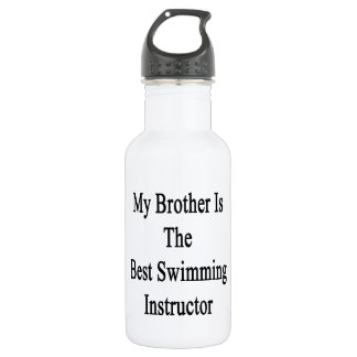My Brother Is The Best Swimming Instructor