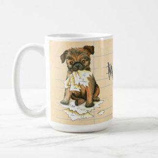 My Brussels Griffon Ate My Homework Coffee Mug