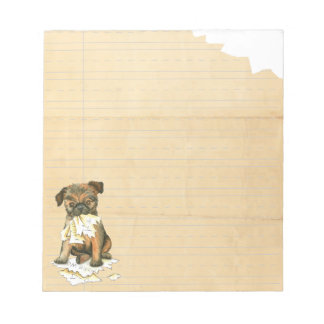 My Brussels Griffon Ate My Homework Notepads