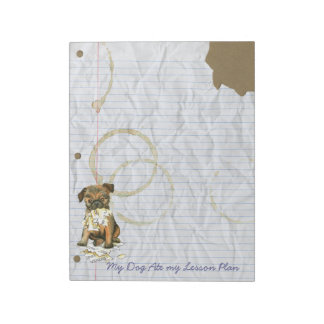 My Brussels Griffon Ate My Lesson Plan Notepads