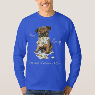 My Brussels Griffon Ate My Lesson Plan T-Shirt