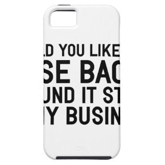 My Business iPhone 5 Cover