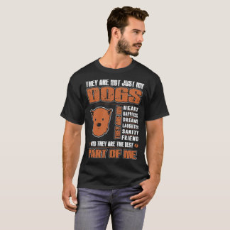 My Cairn Terrier Dog They Are The Best Part Of Me T-Shirt