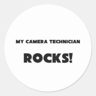 MY Camera Technician ROCKS! Sticker