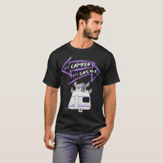 My Camper My Castle Traveling RV T Shirt