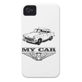 my car solid steel iPhone 4 cover