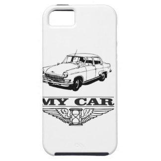 my car solid steel iPhone 5 case