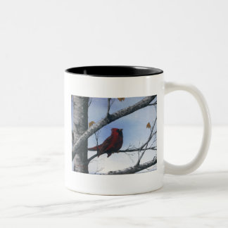 My Cardinal Two-Tone Coffee Mug