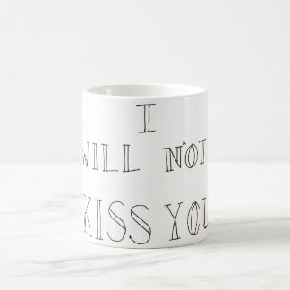 My Chemical Romance Lyric White Coffee Mug