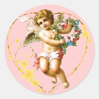 My Cherub Round Sticker