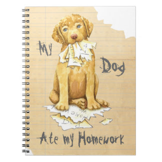 My Chessie Ate My Homework Notebook