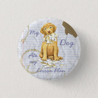 My Chessie Ate My Lesson Plan 1 Inch Round Button