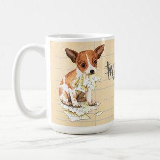 My Chihuahua Ate My Homework Coffee Mug