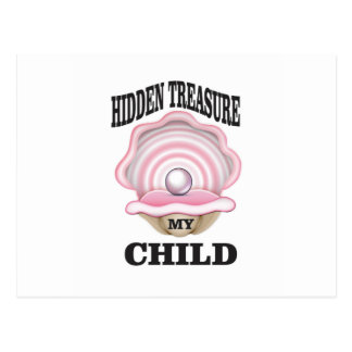 my child hidden treasure postcard