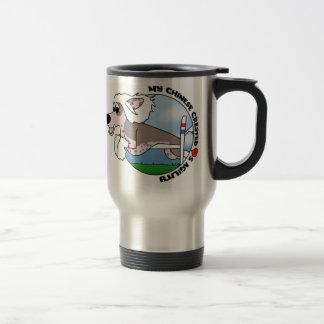 My Chinese Crested Loves Agility Travel Mug