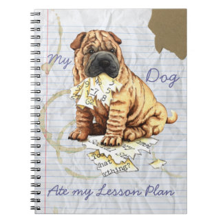 My Chinese Shar-Pei Ate My Lesson Plan Notebook