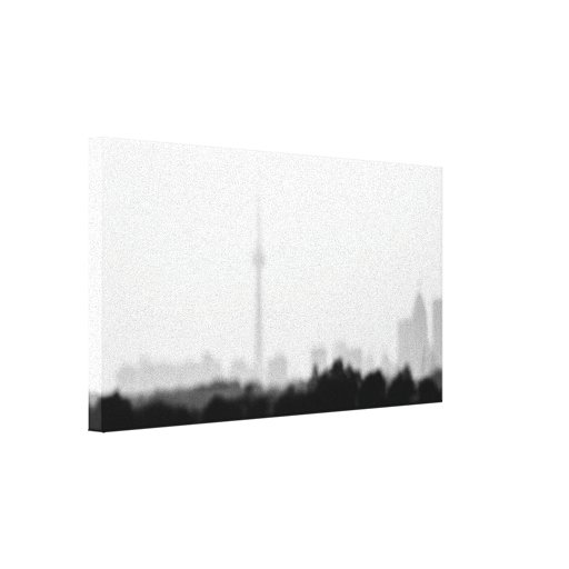 my city dream stretched canvas prints