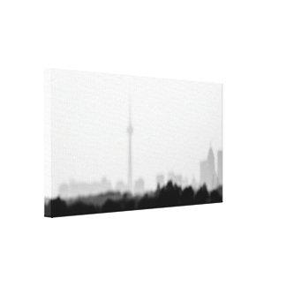 my city dream canvas print