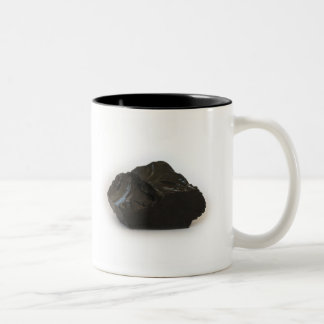 My coal for today Two-Tone coffee mug