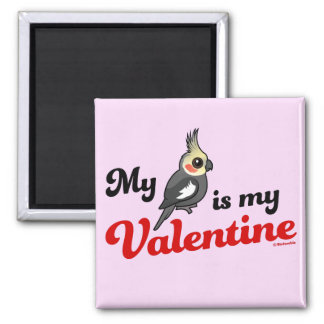 My Cockatiel Is My Valentine Magnet