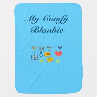 My Comfy Blankie Receiving Blanket