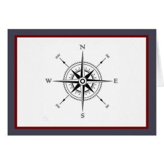 My compass. card