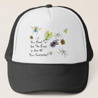 My Computer Is Getting Bugs In It Latley Trucker Hat