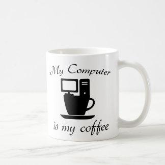 My computer is my coffee coffee mug