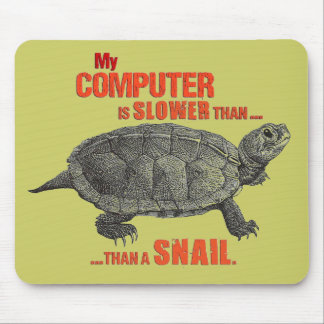 My Computer is Slower than... a Snail Mouse Pad
