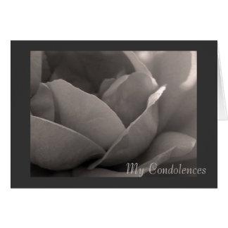My Condolences Card