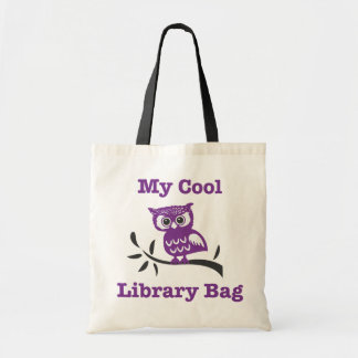 My Cool Library Owl Bag