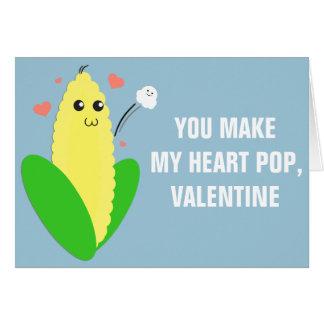 My Corny Valentine Card