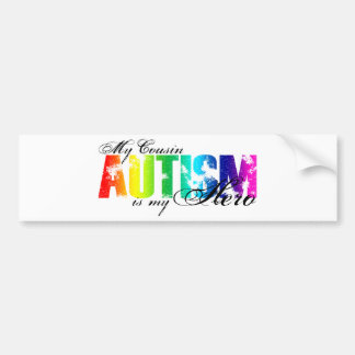 My Cousin My Hero - Autism Bumper Sticker