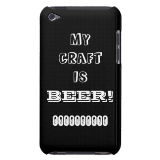 My Craft is Beer! iPod Case-Mate Case