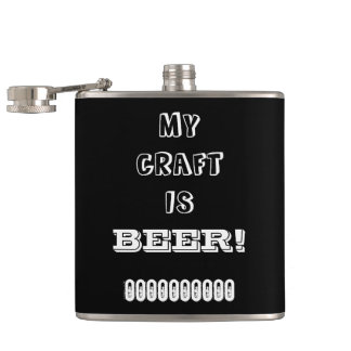 My Craft is Beer! Flasks