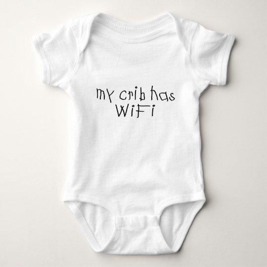 My crib has wifi baby bodysuit