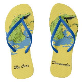 My Croc Downunder Thongs- Flip Flops