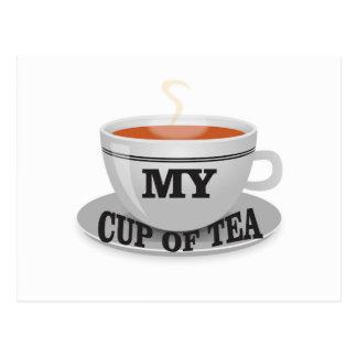 my cup of tea yeah postcard