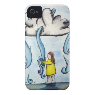 """My Cup Overflows"" iPhone case"