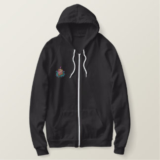 my cupcake embroidered hoodie