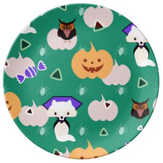 My cute Halloween Plate