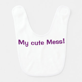 My cute mess Template text Bib